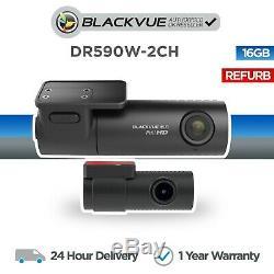 Blackvue Dr590w-2ch 16 Go Avant Et Arrière Dash Cam Full Hd Wi-fi Réformé