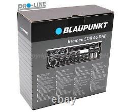 Blaupunkt Brême Sqr 46 Dab Neu Youngtimer Autoradio Retro Radio Dab Usb Bluetoo