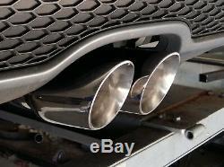 Bmw 318d / 320d E90 / E91 / E92 Silencieux Arrière Tuyau De Suppression Avec Choix De Tuyaux D'échappement