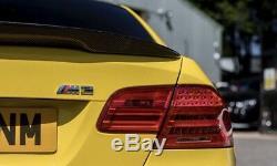 Bmw E92 M3 Real Fibre De Carbone Spoiler Concurrence Style 3 Série M Performance