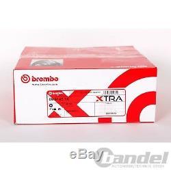 Brembo Xtra Sport-bremsscheiben + Beläge Vorne Golf 5 6 Vw Gti Gtd Octavia Rs