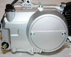 Bt 125cc 4 Engrenages Jusqu'à Kick Start Semi-moteur Moteur Pit Pro Quad Dirt Bike Vtt