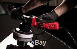 Burisch Hdr2500 Double Action Da Polisseuse Sander + Mousse + Pads Compounding Sac Kit