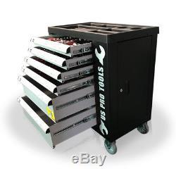 Cabinet Mobile De Coffre De Chariot À Chariot À Boîte À Outils D'atelier Des États-unis Pro Avec 154 Plateaux D'outils