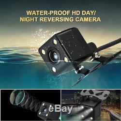 Caméra De Recul De Voiture Câblée Hd, Vision De Nuit, Moniteur Arrière LCD 170 ° + 4,3