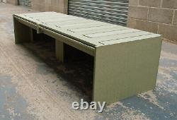 Camper Van Bed Sliding Bench Storage Lift Up LID Campervan Siège Bed050 1800mm
