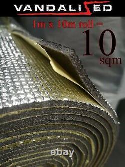 Camper Van Insulation Foam Insonorisé Cellule Fermée Auto-adhésif 7mm X 10m Vw T 6