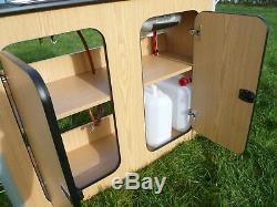 Camper Van Kitchen Pod Unité De Mobilier Pour Camping-car Construit Sur Commande Évier De Table De Cuisson À Gaz Inc