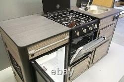 Campervan/van Conversion Unit, Triplex Oven & Grill, Smev 8005 Sink, Réfrigérateur 12v