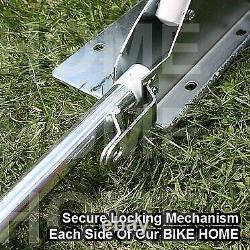 Classic Car Cover Mini Mg Storage Garage Barn Motorcycle Bike Folding Shed Bike +