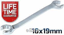 Clé À Écrou Flare Set 7pc Tuyau De Frein Clé À Carburant Essence Clé À Flare 8-24mm