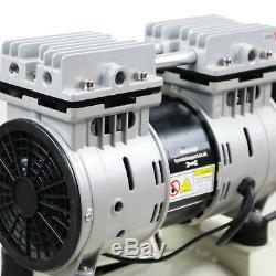 Compresseur D'air 24l Super Silencieux Huile Portable Gratuit 1hp 100psi 7bar 230v Hyundai