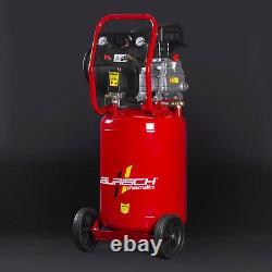 Compresseur D'air 2.5hp 50l Vertical Vertical Upright Burisch Portable 9.5 Cfm