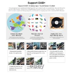 Dab + Vw Passat Golf Mk5 Mk6 Touran Tiguan Voiture Gps Stéréo Radio Satnav Lecteur DVD