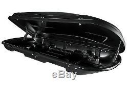 Dachbox Vdp Xtreme 600 Schwarz Dachkoffer 600 Litres Autokoffer Abschließbar