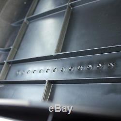 Dachbox Vdp-ba320 Schwarz Dachkoffer 320 Ltr Koffer Carbonlook Abschließbar