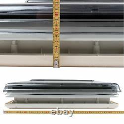 Dachfenster Fiamma Vent 50x50 CM Klar + Dekalin Dichmittel + Schrauben Neu & Ovp