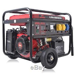 Début Électrique 8.2kva 6.5kw Générateur D'essence À 4 Temps Catering Garage 230v 110v