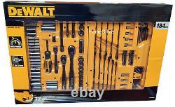 Dewalt 184 Pièces D'outillage Mécanique, Cliquet Et Encliquet Ensemble D'outils