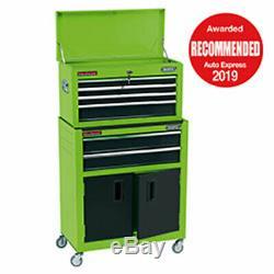 Draper 24 Rouleaux Combinés Coffre Cabinet Et Outils Disponibles 4 Couleurs Vert 19566