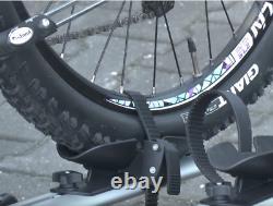 Fahrradträger Anhängerkupplung Aguri Active Bike 2 Silver Für 2 Fahrräder 60 KG