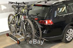 Fahrradträger Für Zwei Anhängerkupplung Fahrräder Ebike Amos Tytan-2 Plus 7polig