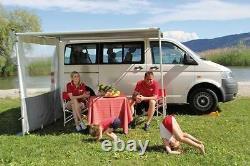 Fiamma F35 Auvent Pro 250 Titanium Étui Royal Gris Tissu Campervan Caravane
