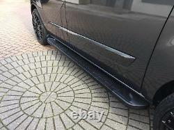 Ford Transit Custom 2012+ Swb Running Boards Étapes Barre Étapes Latérales Barre Élégante