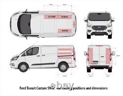 Ford Transit Custom Swb Van Racking Boîte À Outils Étagères De Stockage XL Doubles Unités