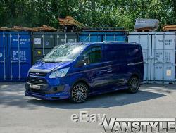 Ford Transit Et Tourneo Sur Mesure 12-18 Bas Splitter Avant Spoiler Pare-chocs À Lèvres Van