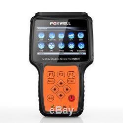 Foxwell Epb Tps Dpf Tpms Outil De Réinitialisation De Diagnostic Voiture Injector Codage Obd2 Scanner