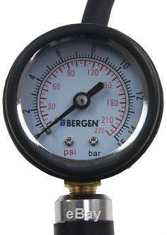 Gonfleur De Pneu Professionnel Bergen Avec Testeur De Pression De Pompe À Pneu De Conduite D'air De Jauge
