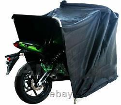 Grand Bike Shelter De Moto Couverture Extérieure Hangar Garage Cyclomoteur Garage