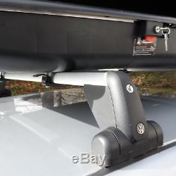 Grand Coffre De Toit 430 Litres Top Box Voiture Coffre De Toit Equip Firenze Noir Cargo Bagages