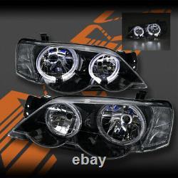 Halo Angel-eyes Phares Pour Ford Falcon Fpv Ba Bf Berline Ute Xr6 Turbo & Xr8