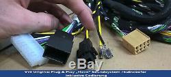 Helix Plug & Play Système De Son / Subwoofer 000051419b D'origine Vw