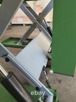 Homme Fort Clifton Mobile 3t Repair Garage Car Lift Workshop Scissor Ramp 240v