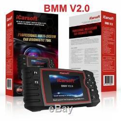 Icarsoft Bmm V2.0 Für Bmw Mini Obd Diagnostiques Öl Service Dpf Epb Bms Rückstellung