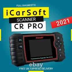 Icarsoft Cr Pro Système Complet De Scanner De Diagnostic Outil Pour Toutes Les Marques (latest 2021)