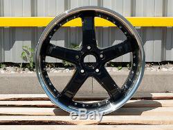 Jantes Alliage 20 Pouces 5x112 Audi A3 A4 Q3 Seat Leon Octavia Vw Passat Golf
