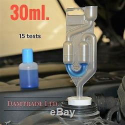 Joint De Culasse Testeur De Combustion Voiture 30ml. Liquide, 100 Tests P & P 1ère Classe