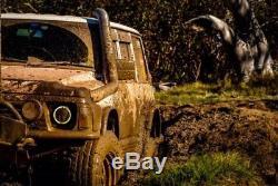 Jtx Led White Phares Halo Amber Pour Toyota Landcruiser Série Hzj75 75 78 79