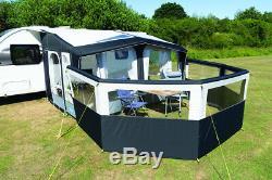 Kampa Air Pause Pro 5 Panneau Gonflable Caravan 2020 Nouveau Auvent Windbreak Conception