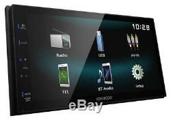 Kenwood Dmx120bt Doppel-din Mp3-usb Écran Tactile Bluetooth Autoradio Ipod Aux-in