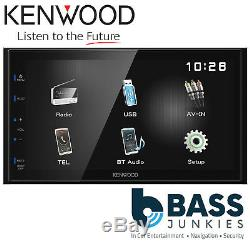 Kenwood Dmx-110bt 6.8 Double Din Bluetooth Mechless Usb Iphone Media Car Stereo