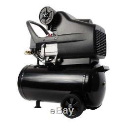 Kit Compresseur D'air Et Outils De 24 Litres, 9,6 Pcm, 2,5 Hp, 24 L