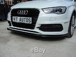 Kit Corps De Séparateur Avant Pour Spoiler De Lèvre Audi A3 / S3 S-line 2013-2015 8v De Ht Autos