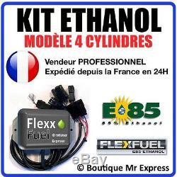 Kit Éthanol Flex E85 Bioéthanol 4 Elm327 Com E Cylindres 85