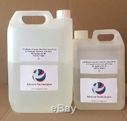 Kit Résine Epoxy Ultra-clair Résistant Aux Uv, Basse Viscosité