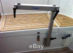 Lagun Marine Boat Rv Motorhome - Piédestal Avec Table De Cockpit Pivotante Et Réglable En Hauteur